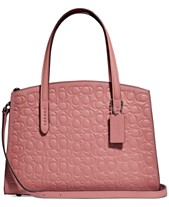 b06656d00e85 COACH Charlie Carryall 28 in Signature Leather