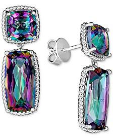 Mystic Quartz (12 ct. t.w.) Drop Earrings in Sterling Silver