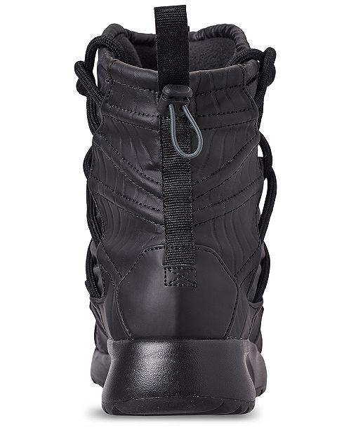 07171b722 ... Nike Women s Tanjun High Rise High Top Sneaker Boots from Finish ...