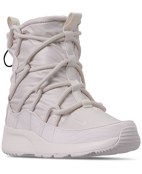 19f20d8c6a2 Nike Women's Tanjun High Rise High Top Sneaker Boots from Finish ...