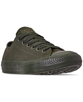 35a1eaec510 Converse Unisex Chuck Taylor All Star Suede Mono Color Low Top Casual  Sneakers from Finish Line