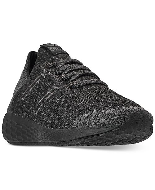 low cost 17db5 2aa06 ... New Balance Women s Fresh Foam Cruz Sock V2 Running Sneakers from  Finish ...