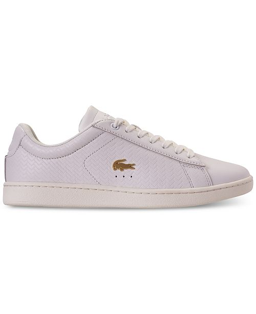 7608f09a4 Lacoste Women s Carnaby EVO Paris Casual Sneakers from Finish Line ...
