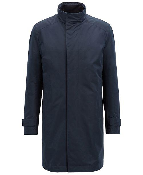 Hugo Boss BOSS Men's Regular/Classic-Fit Water-Repellent Coat