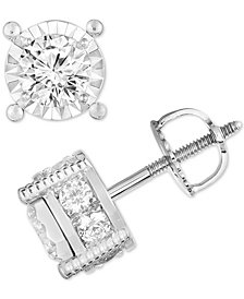 TruMiracle® Diamond (1-1/4 ct. t.w.) Stud Earrings
