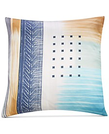 "Meredith Multicolor Silk 20""x20"" Decorative Pillow"