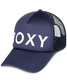 Roxy Juniors' Logo Trucker Hat