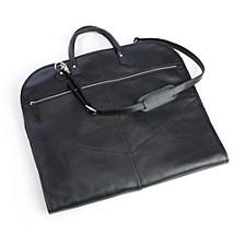 Royce New York Pebbled Leather Garment Bag