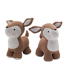 Lolli Living Knitted Bookend Friends - Deer