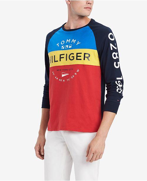 1d7d261b ... Tommy Hilfiger Men's Schooner Graphic Shirt, Created for Macy's ...