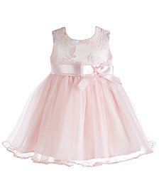 Bonnie Baby Baby Girls Brocade Ballerina Dress