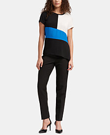 DKNY Colorblocked T-Shirt, Created for Macy's