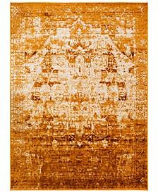 "Surya Mumbai MUM-2302 Saffron 5'3"" x 7'3"" Area Rug"