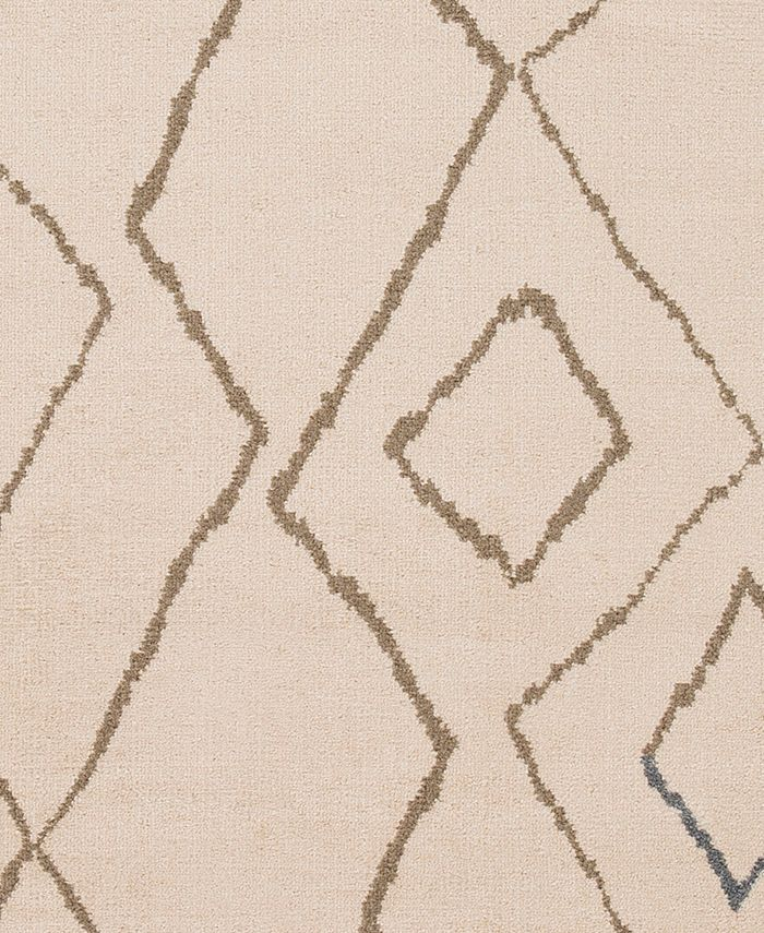 """Abbie & Allie Rugs - Oslo OSL-2310 Camel 18"""" Square Swatch"""