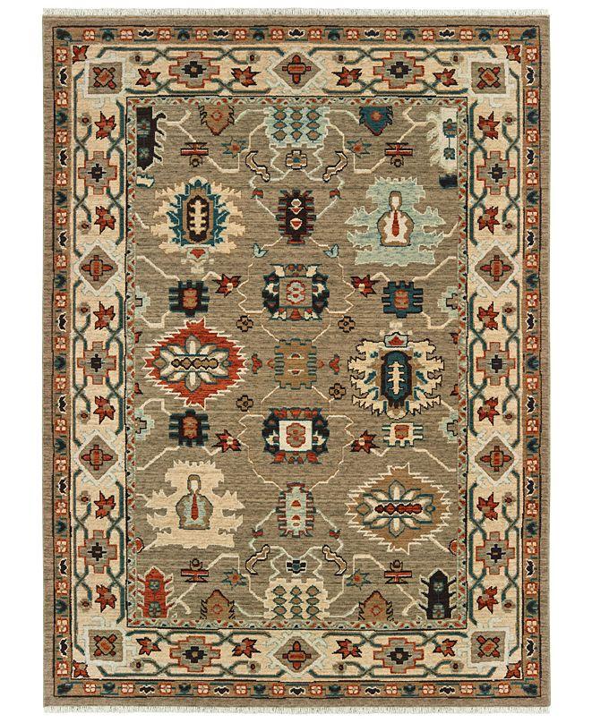 "Oriental Weavers Anatolia 530U3 Tan/Ivory 6'7"" x 9'6"" Area Rug"