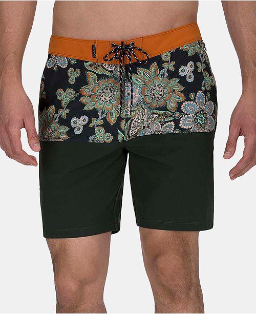 "Hurley Men's Phantom Phantom Melody Beach Side 18"" Board Shorts"