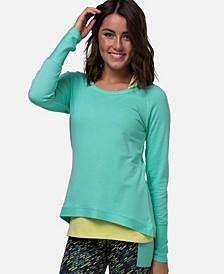 Women's Athletic Long Sleeve Viscose from Bamboo T-Shirt