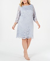 Lace Dress Plus Size Dresses - Macy\'s