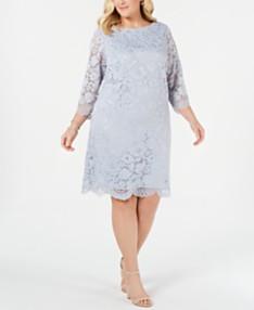 Lace Dress Plus Size Dresses - Macy\'s