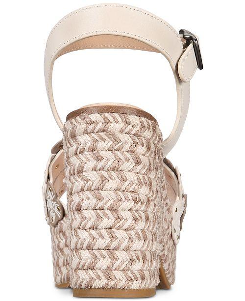 a6349fa59538 COACH Jae Espadrille Wedge Sandals   Reviews - Sandals   Flip Flops ...