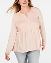 2fba5486fdf Plus Size Tops - Womens Plus Size Blouses   Shirts - Macy s