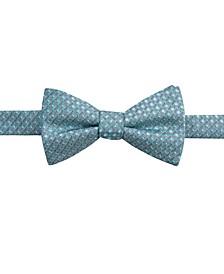 Men's Sinatra Neat Pre-Tied Silk Bow Tie, Created for Macy's