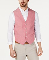 26f10c3314 Tommy Hilfiger Men s Modern-Fit Chambray Vest