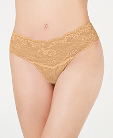 Hanky Panky Women's American Beauty Flower Lace Thong 1C1511