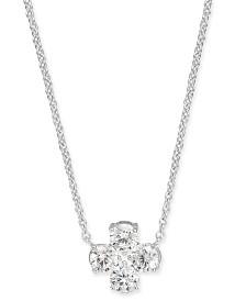 "Eliot Danori Crystal Pendant Necklace, 16"" + 1"" extender, Created for Macy's"