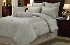 Prescott 8 Piece Comforter Set Queen