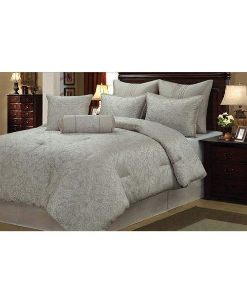 Welcome Industrial Prescott 8 Piece Comforter Set Queen