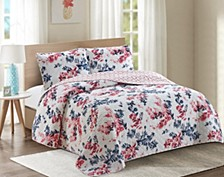 Lorraine 3 Piece Quilt Set Full/Queen