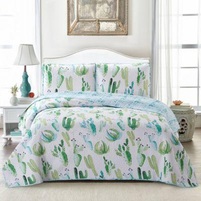Cactus 2 Piece Quilt Set Twin