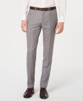 HUGO Men's Slim-Fit Wool Pants