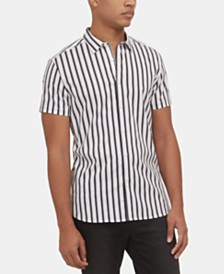 Kenneth Cole New York Men's Stripe Shirt