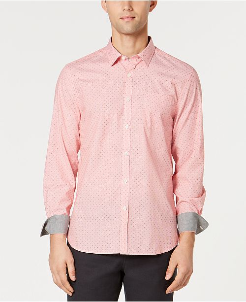 Kenneth Cole Men's Micro-Stripe Shirt