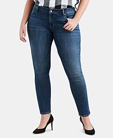 Trendy Petite Plus Size  711 Skinny Jeans