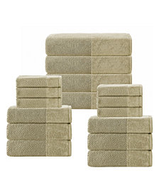 Enchante Home Incanto 16-Pc. Turkish Towel Set