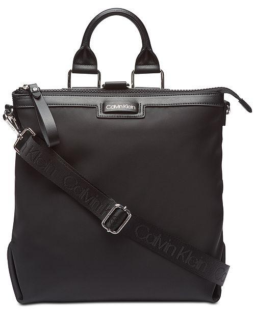 6339fb890888 Calvin Klein Calvn Klein Lane Backpack Logo Crossbody & Reviews ...