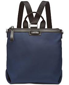 Calvn Klein Lane Backpack Logo Crossbody