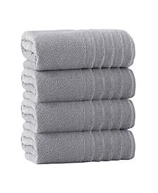 Veta 4-Pc. Bath Towels Turkish Cotton Towel Set