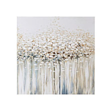 Madison Park Dream Forest Hand Brush Embellished Canvas