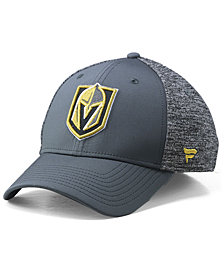 Authentic NHL Headwear Vegas Golden Knights Heathered Team Flex Stretch Fitted Cap