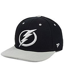 Authentic NHL Headwear Tampa Bay Lightning Blackout Emblem Snapback Cap