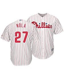 Majestic Men's Aaron Nola Philadelphia Phillies Player Replica Cool Base Jersey