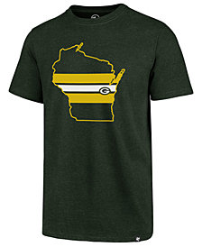 '47 Brand Men's Green Bay Packers Regional Slogan Club T-Shirt