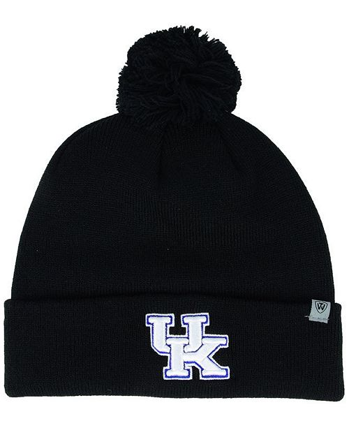 68c73d0b581 Top of the World Kentucky Wildcats Core Pom Knit Hat - Sports Fan ...