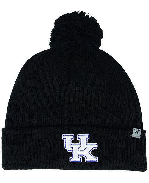 68c73d0b581 Top of the World Kentucky Wildcats Core Pom Knit Hat - Sports Fan ...