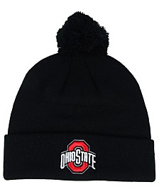 pretty nice b7977 894a9 Top of the World Ohio State Buckeyes Core Pom Knit Hat