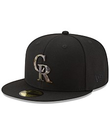 New Era Colorado Rockies Camo Capped 59FIFTY-FITTED Cap